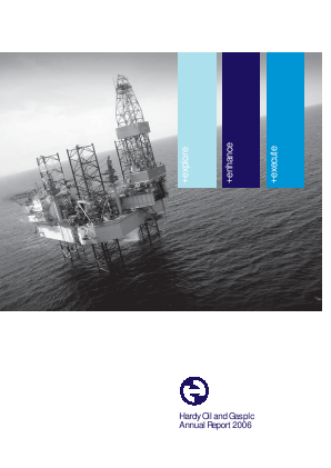 Hardy Oil & Gas annual report 2006
