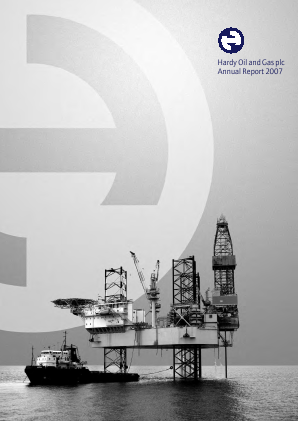 Hardy Oil & Gas annual report 2007