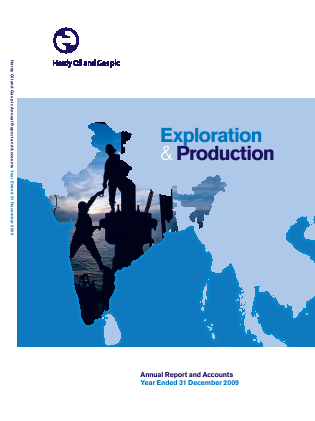Hardy Oil & Gas annual report 2009