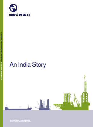 Hardy Oil & Gas annual report 2010