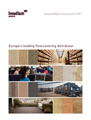 Headlam Group annual report 2011
