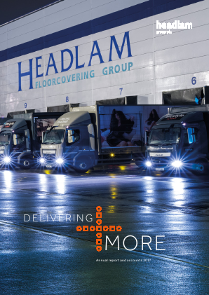 Headlam Group annual report 2017