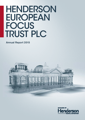 Henderson European Focus Trust Plc annual report 2015
