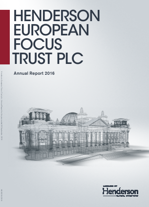Henderson European Focus Trust Plc annual report 2016
