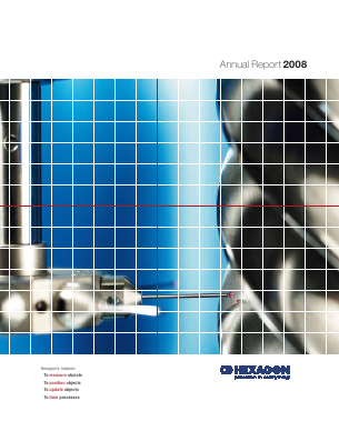 Hexagon annual report 2008