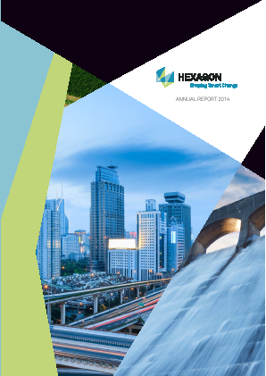 Hexagon annual report 2014