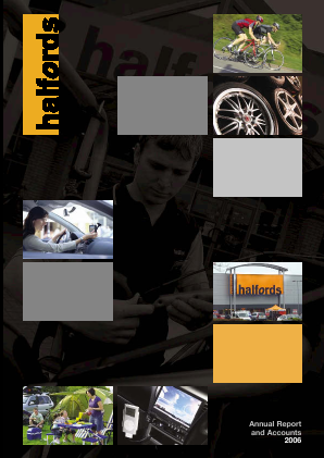 Halfords Group annual report 2006