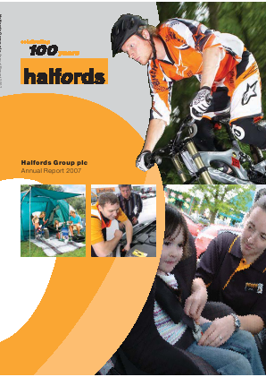 Halfords Group annual report 2007