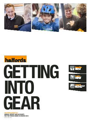 Halfords Group annual report 2014