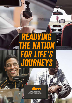 Halfords Group annual report 2018