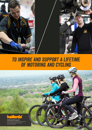Halfords Group annual report 2019