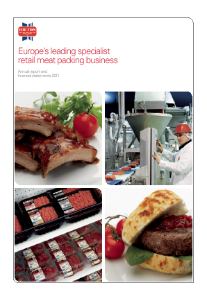 Hilton Food Group Plc annual report 2011
