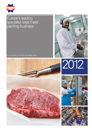 Hilton Food Group Plc annual report 2012