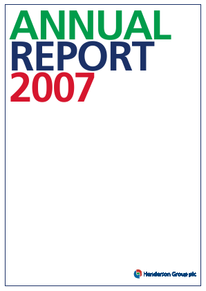 Henderson Group Plc annual report 2007