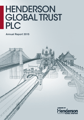 Henderson Global Trust Plc (merged with Henderson International Income Trust February 2016) annual report 2015