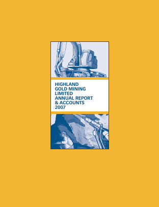 Highland Gold Mining annual report 2007