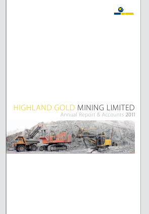 Highland Gold Mining annual report 2011