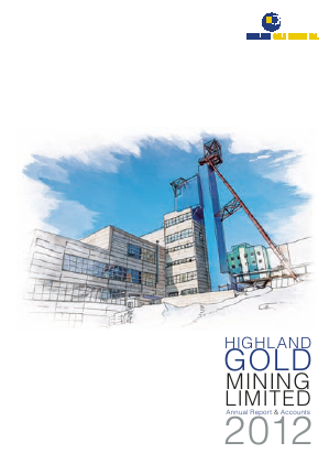Highland Gold Mining annual report 2012