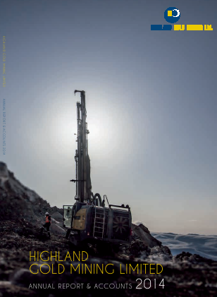 Highland Gold Mining annual report 2014