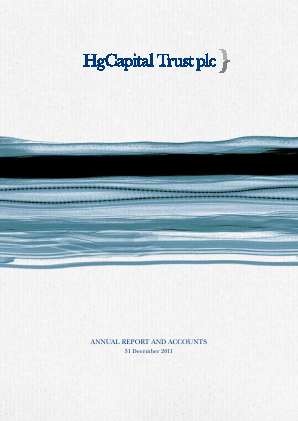 HG Capital Trust annual report 2011