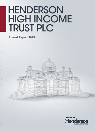 Henderson High Income Trust annual report 2015