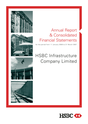 HICL Infrastructure Co annual report 2007