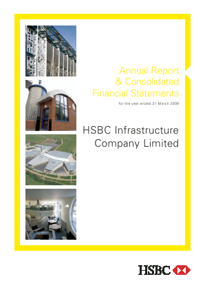 HICL Infrastructure Co annual report 2009