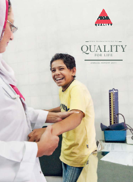 Hikma Pharmaceuticals annual report 2011