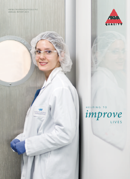 Hikma Pharmaceuticals annual report 2013