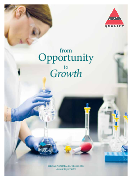 Hikma Pharmaceuticals annual report 2015