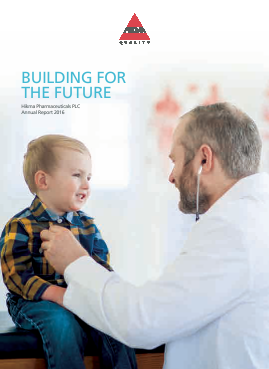 Hikma Pharmaceuticals annual report 2016