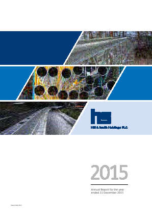 Hill & Smith Holdings annual report 2015