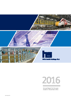 Hill & Smith Holdings annual report 2016