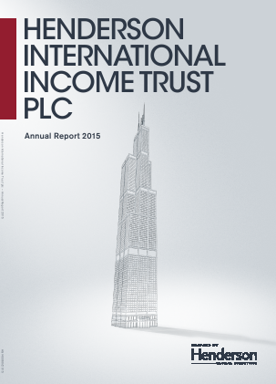 Henderson International Income Trust Plc annual report 2015