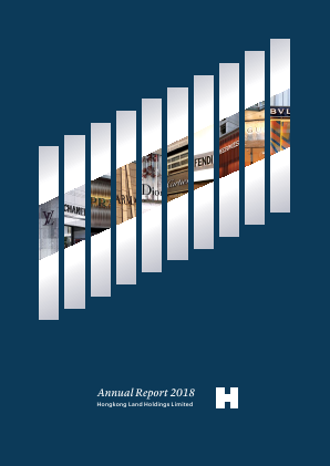 Hongkong Land Holdings annual report 2018