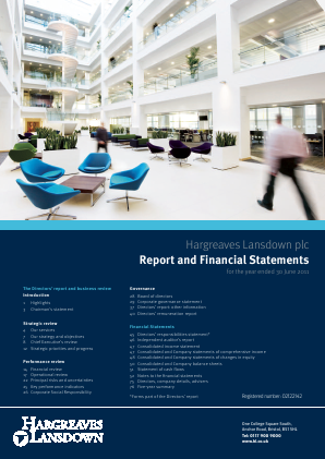 Hargreaves Lansdown Plc annual report 2011