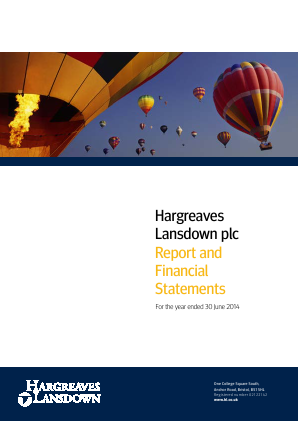 Hargreaves Lansdown Plc annual report 2014