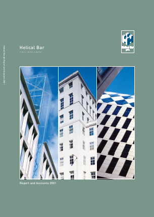 Helical Plc annual report 2001