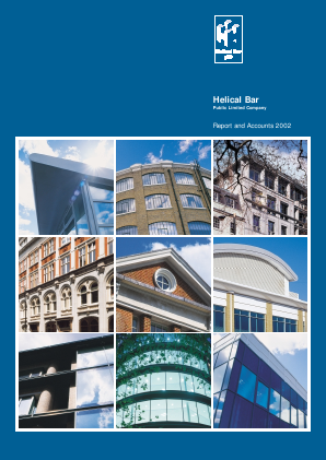 Helical Plc annual report 2002