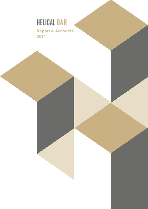 Helical Plc annual report 2014