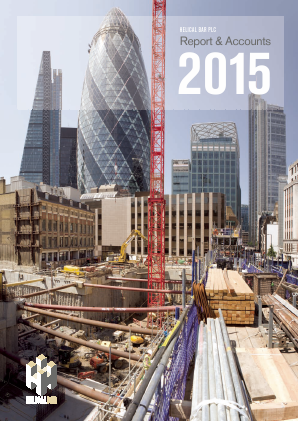 Helical Plc annual report 2015