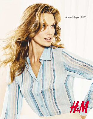 Hennes & Mauritz annual report 2000