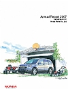 Honda Motor annual report 2007