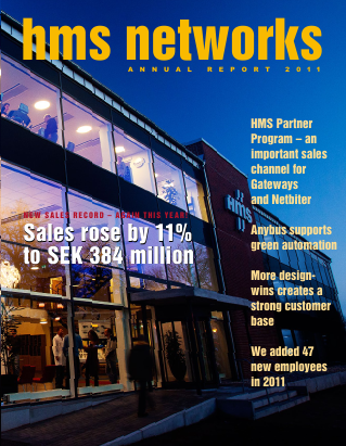 HMS Networks annual report 2011