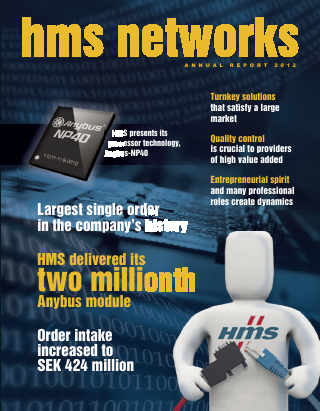 HMS Networks annual report 2012
