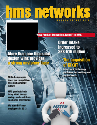 HMS Networks annual report 2013