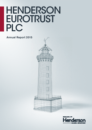 Henderson Eurotrust annual report 2015