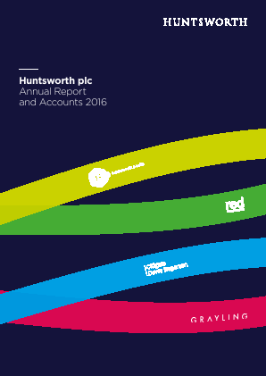 Huntsworth annual report 2016