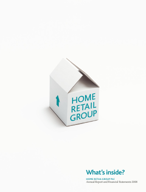 Home Retail Group Plc annual report 2008