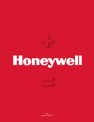 Honeywell International Inc annual report 2002